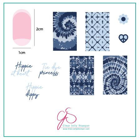 Lil' Boho Life (Cjs-116) - CJS Small Stamping Plate