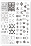 Frosted (CjS-144) - Clear Jelly Stamping Plate