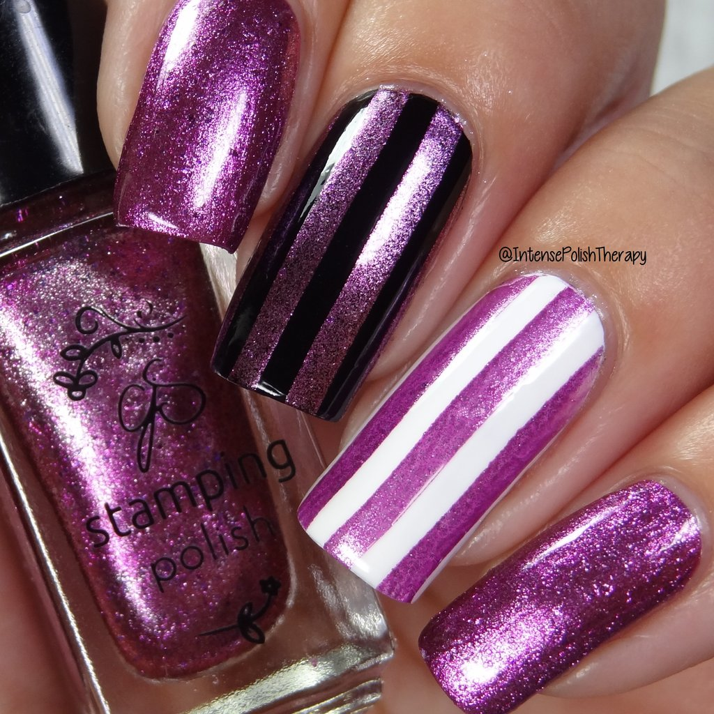 #54 I'm a Barbie Girl Stamping Polish