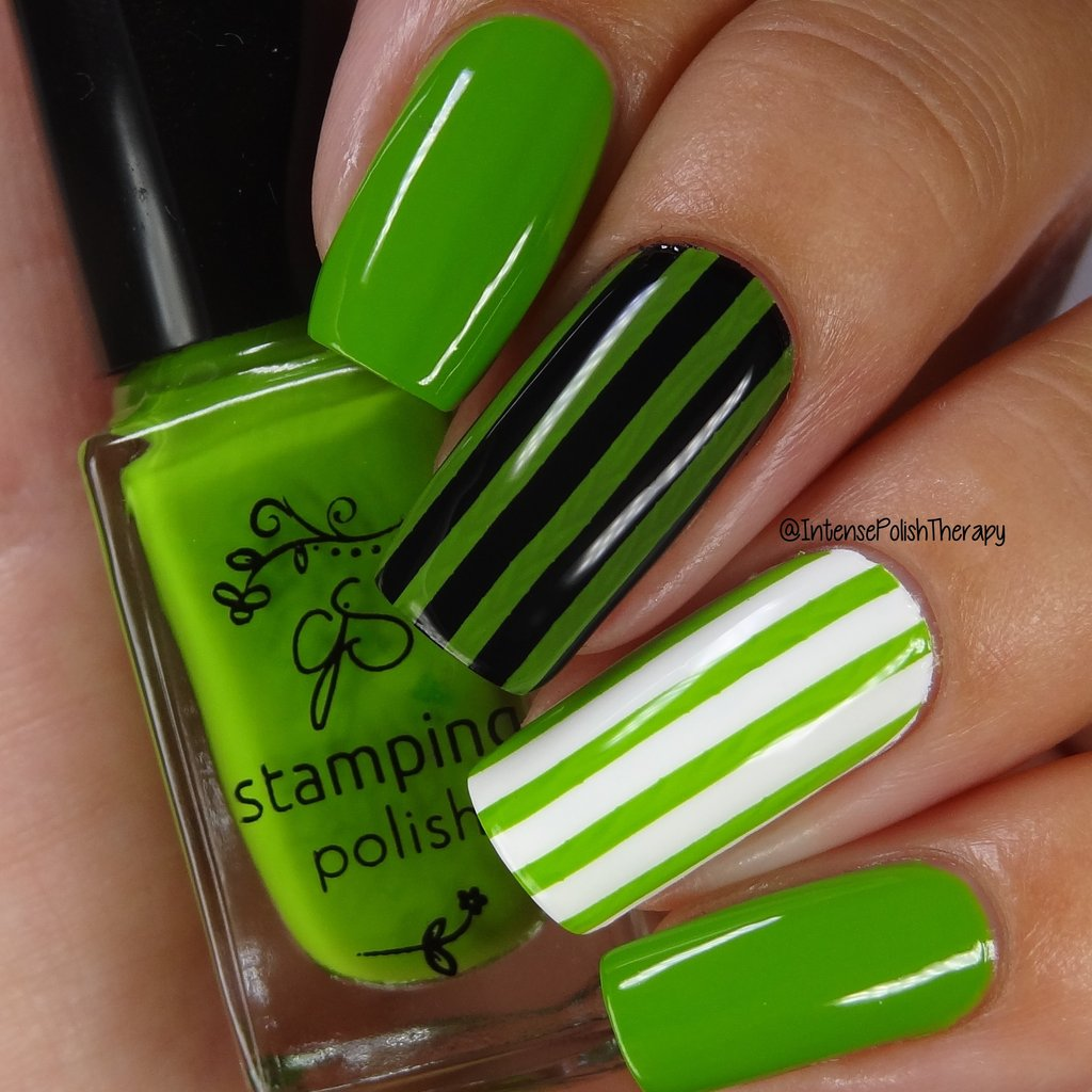 #87 Enlighten MINT Stamping Polish