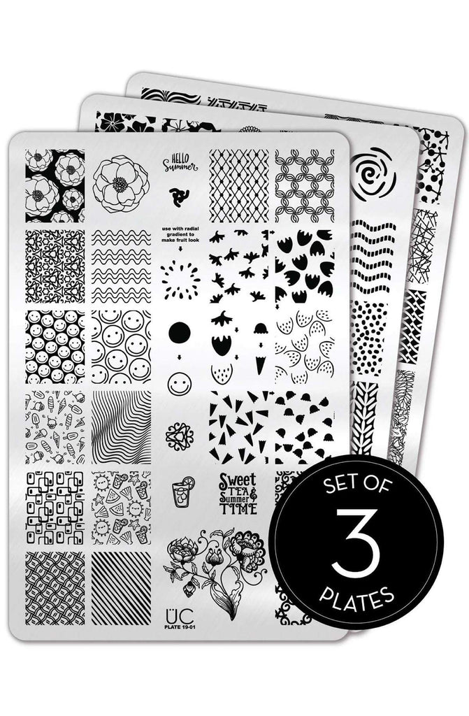 Collection 19 - Uber Chic Stamping Plates