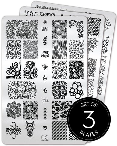 Collection 8 - Uber Chic Stamping Plates