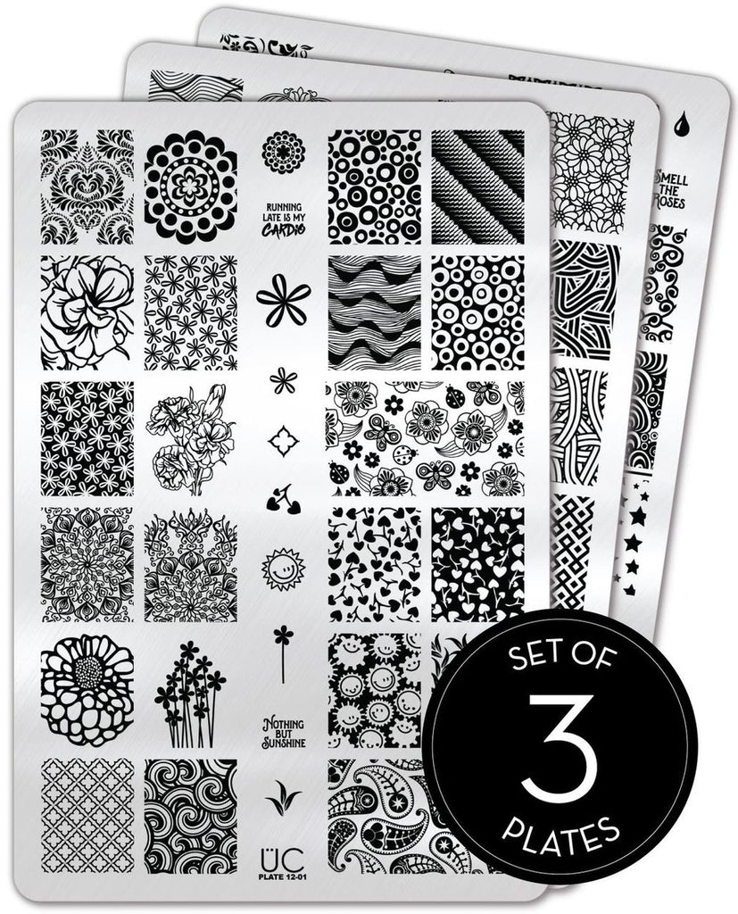 Collection 12 - Uber Chic Stamping Plates