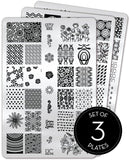 Collection 13 - Uber Chic Stamping Plates