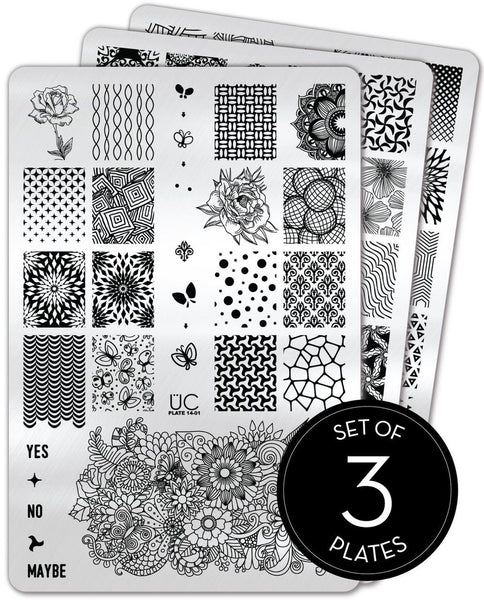 Collection 14 - Uber Chic Stamping Plates