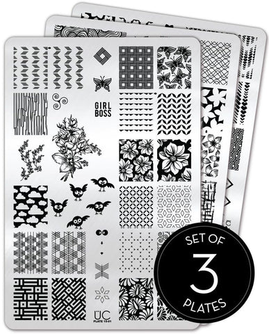 Collection 15 - Uber Chic Stamping Plates