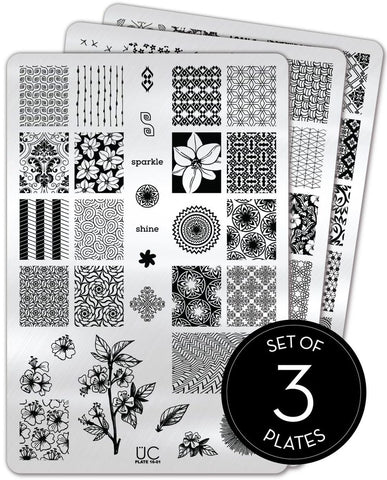 Collection 16 - Uber Chic Stamping Plates