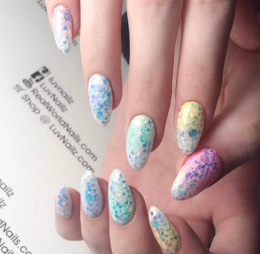 Northern Lights Glitter Set