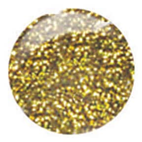Gold Glitter Nail Art Paint with Striper Brush