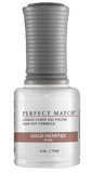 Gold Hearted - Perfect Match - PMS166