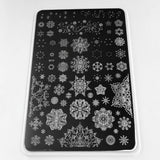 Diamonds in Ice (CjSC-14) - Clear Jelly Stamping Plate