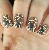 Out of Africa - Uber Chic Stamping Plates