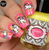 Unicorn Love - Uber Chic Stamping Plate