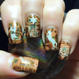 Wild West 1 - Uber Chic Stamping Plate