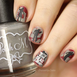 Zombie Love 2 - Uber Chic Stamping Plate
