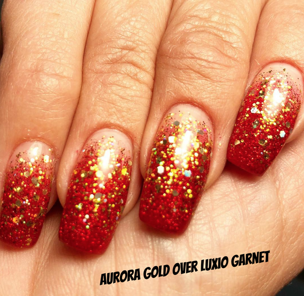Gold Aurora Glitter -  Akzentz Options UV/LED