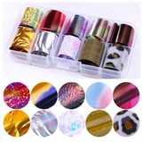 Mixed Foils Set of 10 in Case