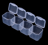 Empty Plastic Storage Container - 28 Slot