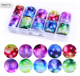 ALL Galaxy Effects Foil Set of 10 in Case