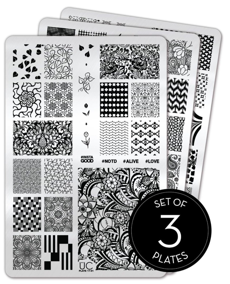 Collection 17 - Uber Chic Stamping Plates