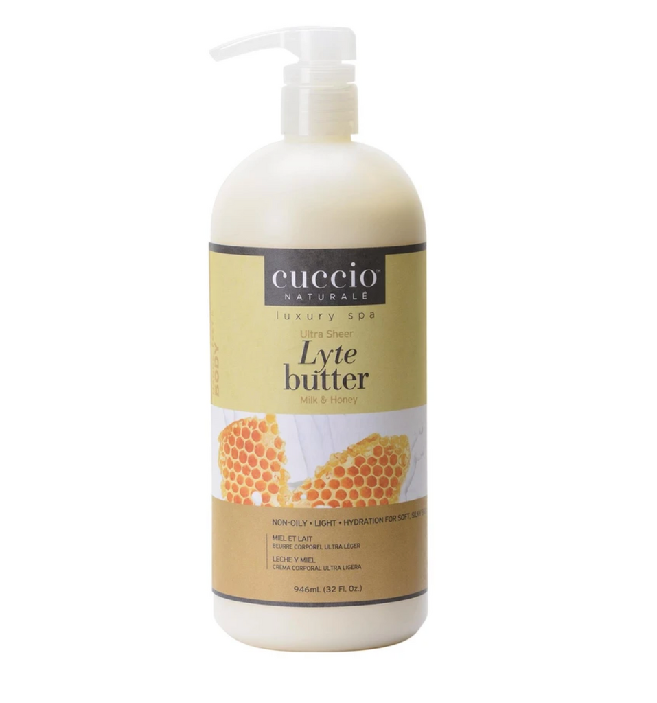 Cuccio Lyte Ultra-Sheer Body Butter Milk and Honey