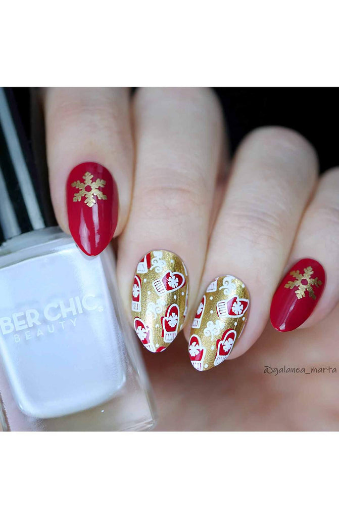 Jingle All The Way - Uber Chic Stamping Plates