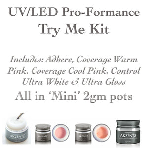 Proformance TRY ME - Akzentz Mini UV/LED Gel Kit