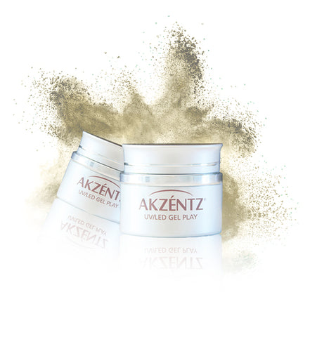 Gold Gel Play Pearlescent Powder - Akzentz