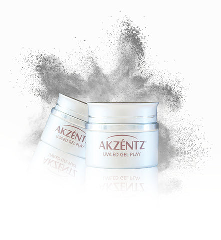 Silver Gel Play Pearlescent Powder - Akzentz