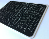 Alphabet Script (CJS-41) - Clear Jelly Stamping Plate