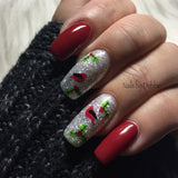 Angelic Christmas Wonderland - CJS Small Stamping Plate