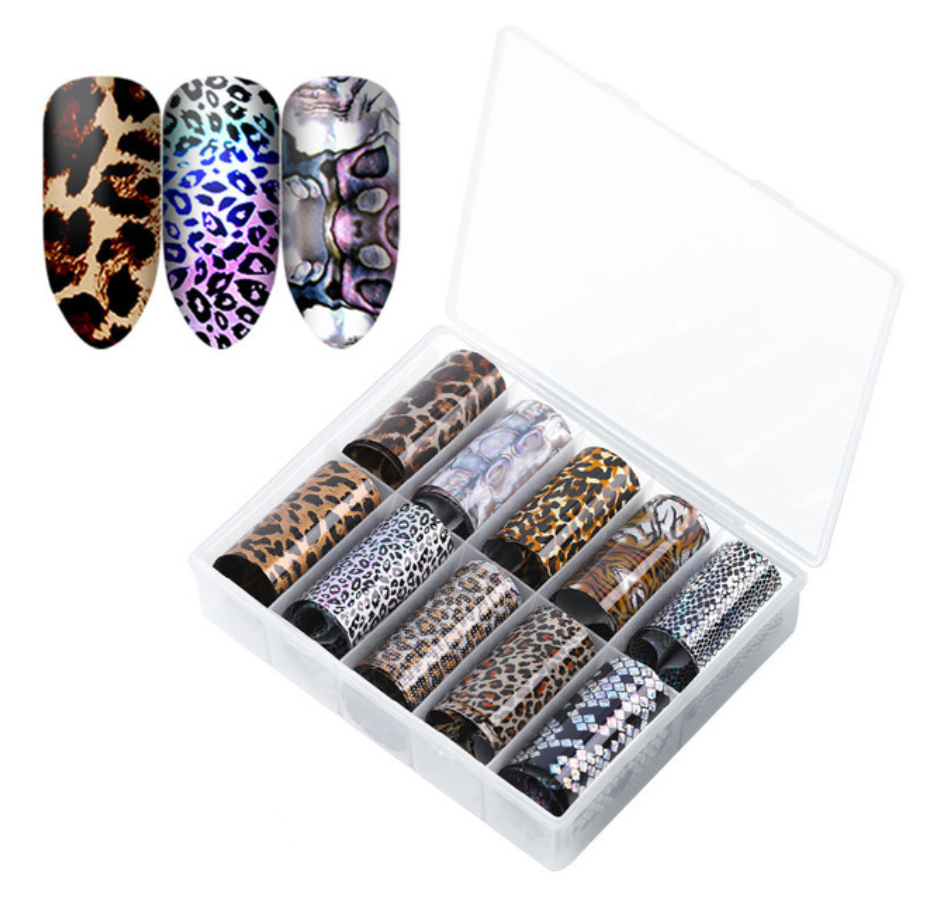Animal Print Designs Foil Set