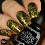 Art Deco Flair - Uber Chic Stamping Plates