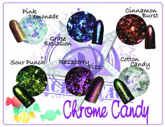 Shiny Candy Chrome Collection - 6 piece