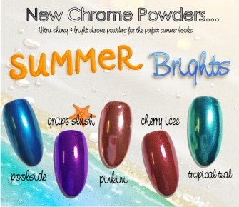 Summer Chrome Set - 5 pc