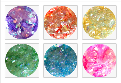 ICY Candy Chrome Set of 6