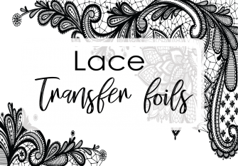 Lace Foil Set of 4