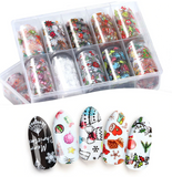 Christmas -  Clear Foil Set