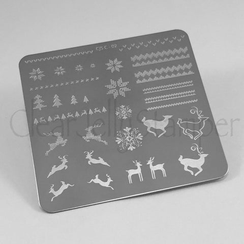 Christmas Sweater (CjSC-02) - CJS Small Stamping Plate