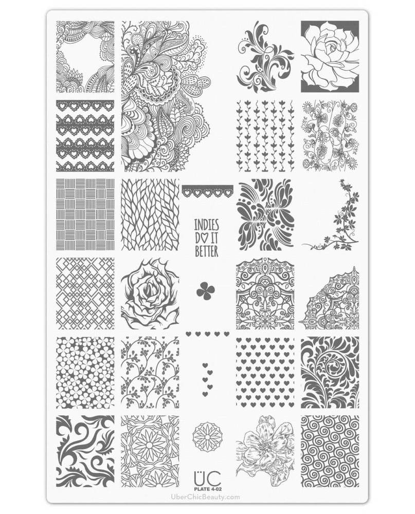 Collection 4 - Uber Chic Stamping Plates
