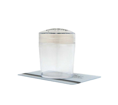 XL Clear Stamper Head in Clear Tall - Uber Chic