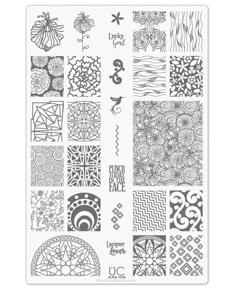 Collection 10 - Uber Chic Stamping Plates