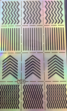 Zigzag Chevron - Ghost Pattern