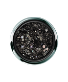 Aurora Onyx Black Glitter Gel - Options UV/LED