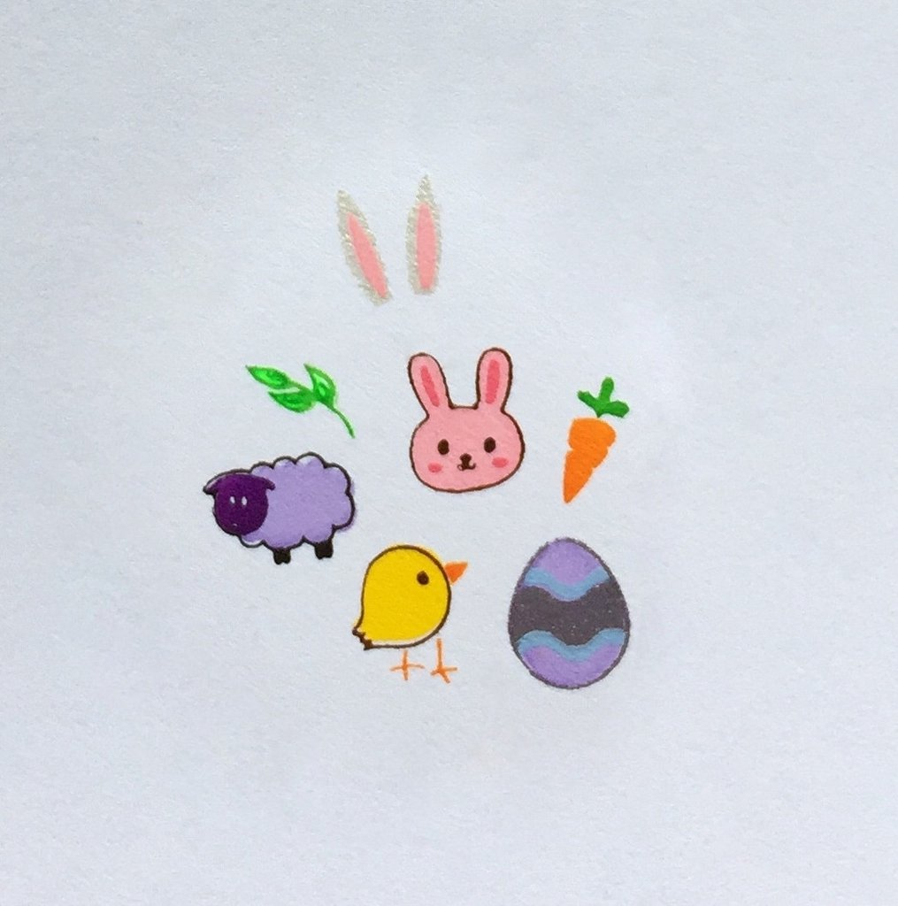 Easter 2 (CjSH-07) - CJS Small Stamping Plate