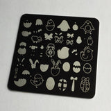 Easter 3 (CjSH-08) - CJS Small Stamping Plate