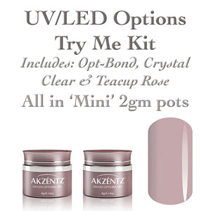 Options UV/LED - TRY ME Gel Kit