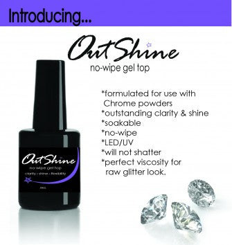 OutShine Top Gel for Chromes