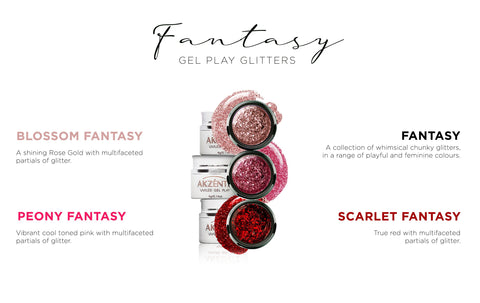 MINI Fantasy Glitter Collection - Gel Play UV/LED