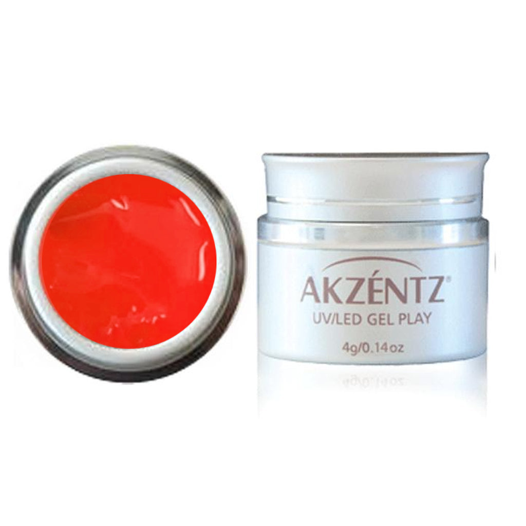 Paint Flame Red - Akzentz Gel Play UV/LED